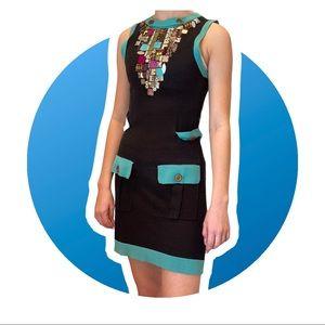 NANETTE LEPORE XS Jeweled Dress